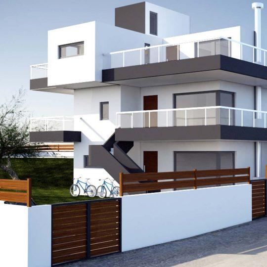 Τρισδιάστατη απεικόνιση κατοικίας