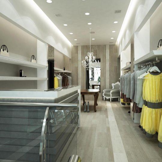 Διακόσμηση καταστήματος ρούχων