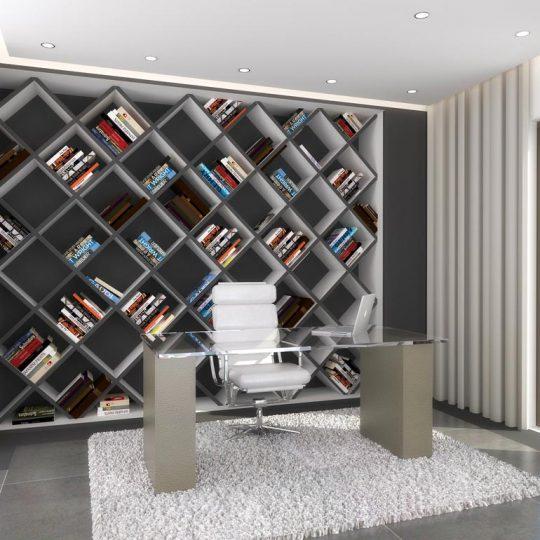 Βιβλιοθήκη σε μορφή κανάβου